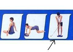 ゴルフ練習での使い方