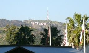 ハリウッドサイン?
