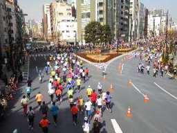 東京マラソン東日本橋