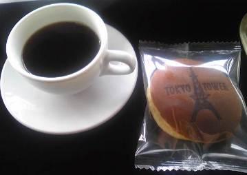 コーヒーとドラヤキ。500円