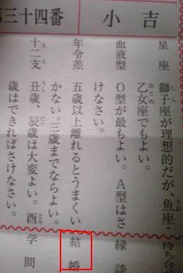 東京大神宮恋みくじ