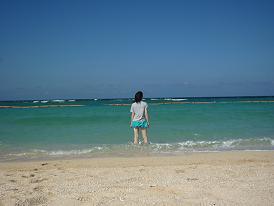 トロピカルビーチな私
