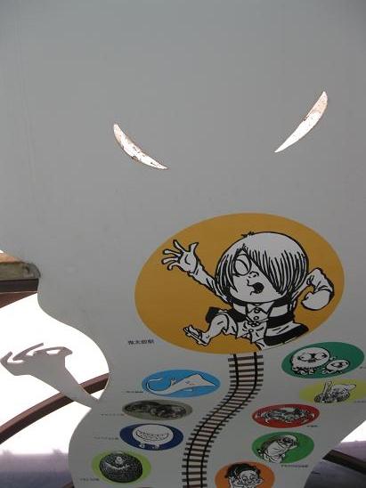 鳥取旅行:境港駅 アーケード