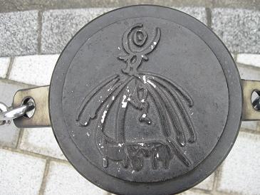 鳥取旅行:水木しげるロード 道路脇 ポール2