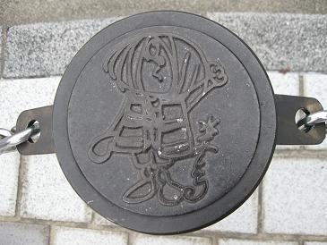 鳥取旅行:水木しげるロード 道路脇 ポール