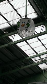 鳥取旅行:水木しげるロード 電灯四角1