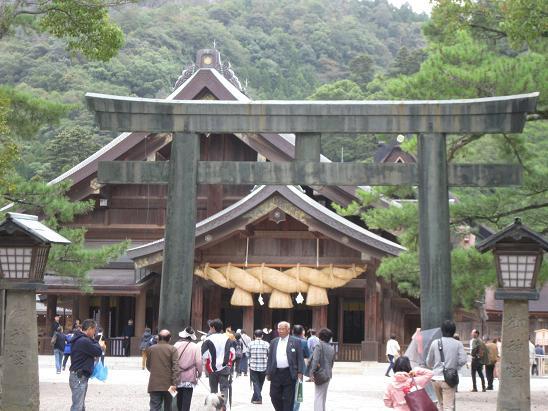 鳥取旅行:出雲大社