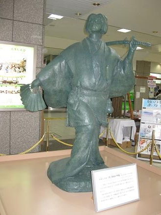 鳥取旅行:出雲市駅 阿国