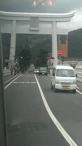 鳥取旅行:出雲大社 第1の鳥居