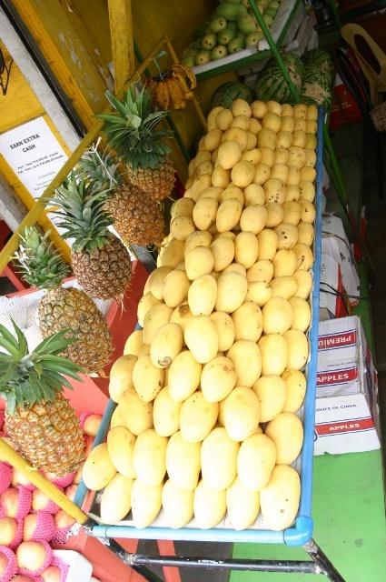 マンゴとパイナップル