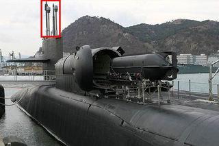 事故前のアメリカ原子力潜水艦