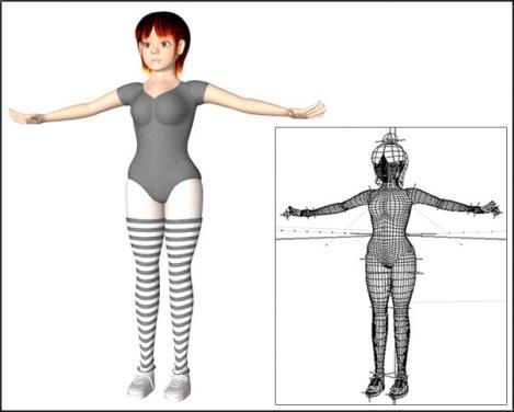 3Dキャラのバレエ1