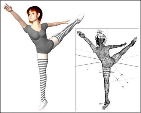 3Dキャラのバレエ2