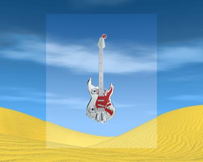 メタルギター1301