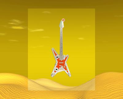 メタルギター1302