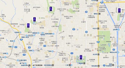 金閣寺002地図