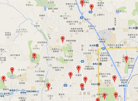 金閣寺004地図