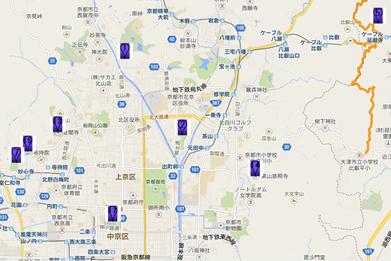 銀閣寺002地図
