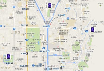 銀閣寺003地図
