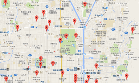 銀閣寺004地図