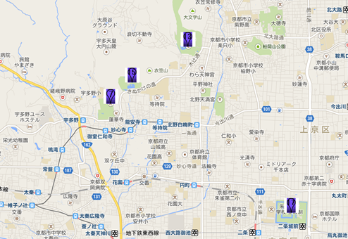 龍安寺003地図