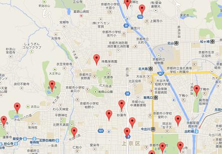 龍安寺004地図