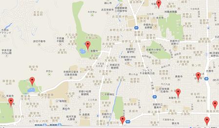 龍安寺005地図