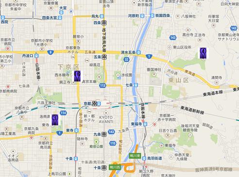 西本願寺002地図