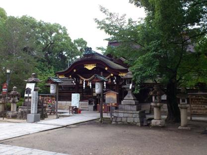 藤森神社 不二の水004