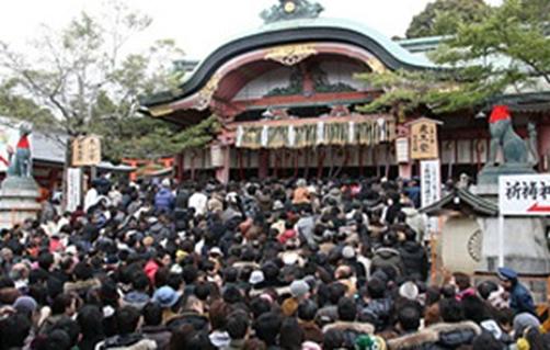 伏見稲荷神社001初詣a