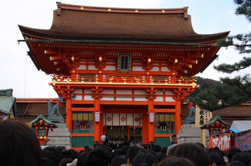 伏見稲荷神社002初詣a