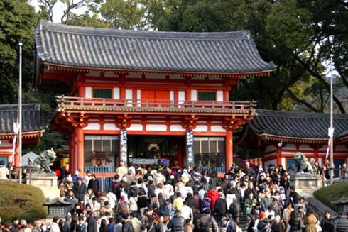 八坂神社001初詣a