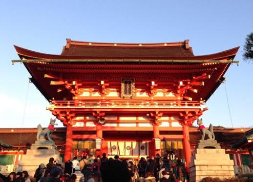 伏見稲荷神社001初詣1