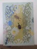 昆虫切り紙