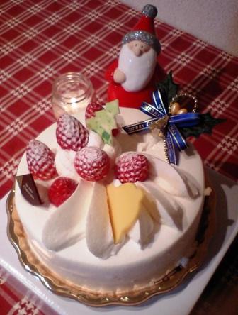 買ってきたクリスマスケーキ☆