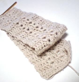 編み模様*