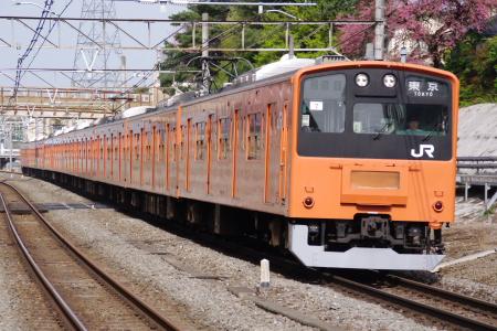 2010年4月29日 中央線  nisikokubunnzi
