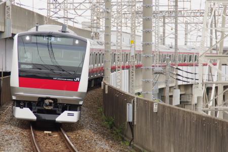 2010年6月20日 東金線 E233系試運転  0810