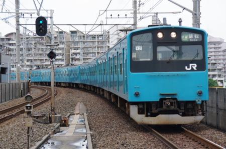 2010年6月27日 京葉線 潮見