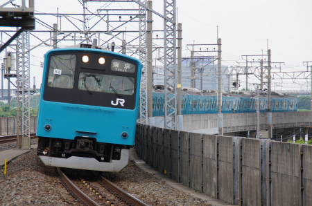 2010年7月1日 京葉線 0050