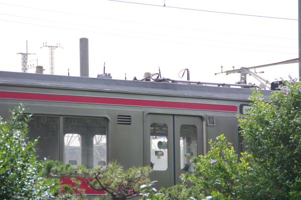 2010年7月4、6日 車両センター パンタ2