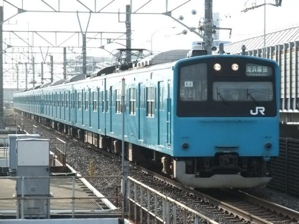 2010年7月10日 京葉線  1683Y ケヨ54+K4 南船橋