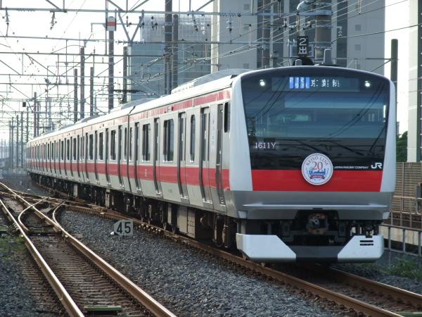 2010年7月10日 京葉線  1611Y ケヨ501 海浜幕張
