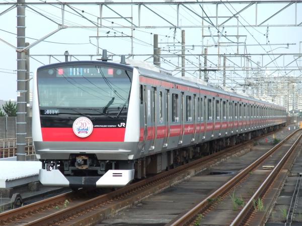 2010年7月10日 京葉線  1611Y ケヨ501後打ち 海浜幕張