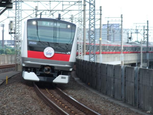 2010年7月10日 京葉線  1510A ケヨ501 潮見