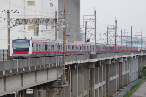 2010年7月11日 京葉線  ケヨ503 南船橋-二俣新町
