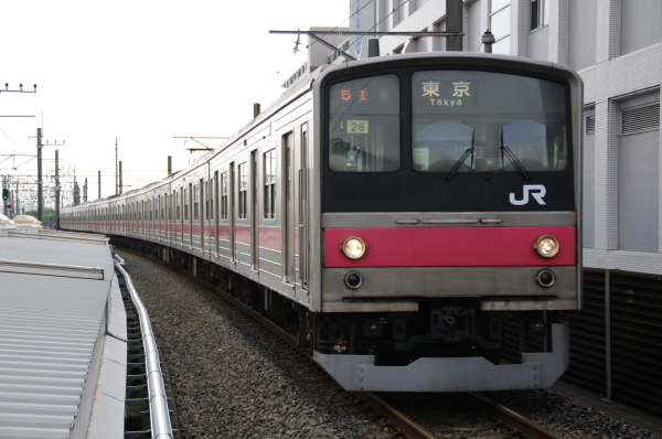 2010年7月14日 京葉線  ケヨ26 新浦安