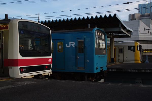 2010年7月14日 京葉線  かいひんまくはり