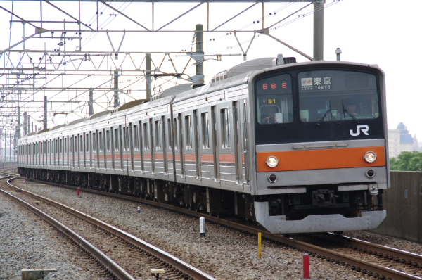 2010年7月14日 京葉線  M1 葛西臨海公園