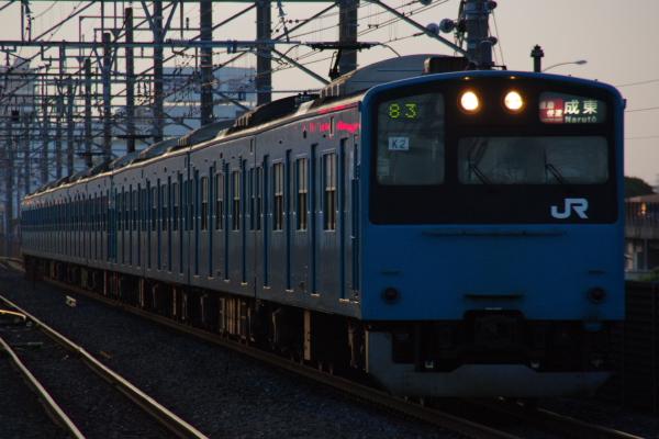 2010年7月15日 京葉線  2883A ケヨ52+K2 新習志野